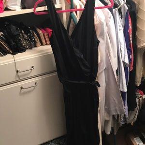Black sleeveless Abercrombie jumpsuit